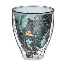 Starbucks Taiwan 8oz siren double wall glass cup