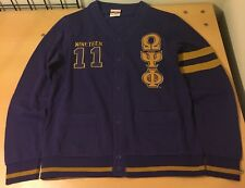 Omega Psi Phi - Embroidered Cardigan(Size XL)