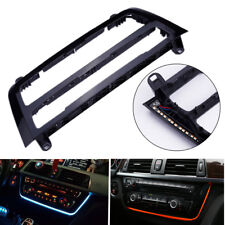 Car LED Light Dash AC Panel Radio Trim Decoration for BMW 3 & 4 Series F30 LCI
