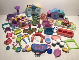 Littlest Pet Shop LPS Hasbro Toys Play Sets Parts Pieces Accessories Replace Lot