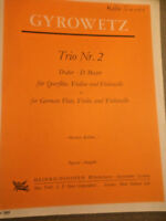 "Adalbert Gyrowetz : "" Trio Nr. 2 "" D-dur"