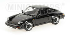 PORSCHE 911 CARRERA 1983 BLACK MINICHAMPS 1/18 RARE NIB