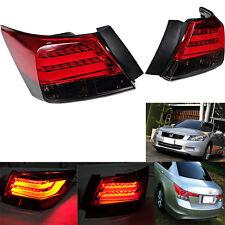 FIT 2008 13 HONDA ACCORD LED TAIL LIGHT 4 PCS FITS JAPAN BACK GARNISH TYPE.