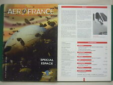 REVUE AEROFRANCE N°76 SPECIAL ESPACE SPACE VOL A VOILE INTERPLANETAIRE COSMOS