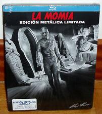 LA MOMIA EDICION LIMITADA STEELBOOK BLU-RAY NUEVO PRECINTADO TERROR (SIN ABRIR)