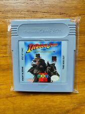 🔥 Indiana Jones Last Crusade🔥 Cart Ubisoft Nintendo Gameboy Near Mint Excellnt