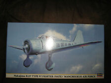 Hasegawa 1/48 Nakajima Ki-27 Type 97 Fighter (Nate) 'Manchoukuo Air Force'