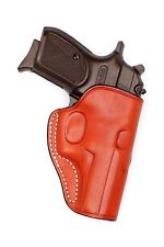 Premium Leather Belt Holster BERSA Thunder 380    -  (item no: 5580BRN)