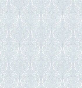 Laura Ashley Beaulieu Pale Seaspray Blue Wallpaper (1 Roll) FREE DELIVERY