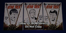 Infestation: Star Trek #1 Original Bones, Spock & Kirk Sketch Set Purcell Signed