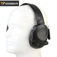 IDOGEAR Ear Muffs Shooting Ear Protection TAC-6-S Electronic Headset Paintball