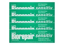5x Biorepair Zahncreme sensitiv mit Hydroxylapatit 75 ml Ohne Fluorid