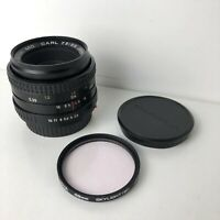 Carl Zeiss Jena Prakticar 50mm 1:2.8 MC Camera Lens RARE