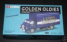 "CORGI, GOLDEN OLDIES MODEL, LYONS SWISS ROLLS,  BEDFORD ""S"" LYONS TRUCK, MIB!"
