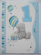 Me to you - Tatty Teddy - Happy birthday Card - 1 today boy card