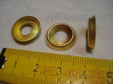 20 cuvettes en laiton pour vis de 6 mm ,ou  rondelles à vis de 6 mm