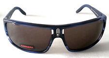 Gafas de sol para hombre por CARRERA-Nr X5K-Negro Mate y Azul-Precio De Liquidación