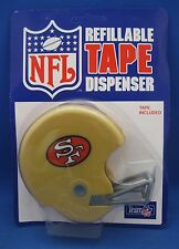 SAN FRANCISCO 49ERS HELMET SHAPED TAPE DISPENSER NEW IN PACKAGE TAPE INCLUDED