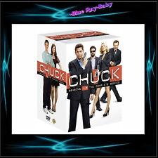 CHUCK - COMPLETE SERIES SEASONS 1 2 3 4 5 *** BRAND NEW DVD BOXSET***