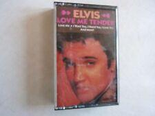Elvis Presley Love Me Tender Cassette Tape 1987 RCA