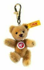 Steiff 8cm Keyring Mini Teddy Bear Jointed Wheat Blond