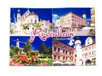 Rosenheim Oberbayern Foto Magnet Germany 8 cm Reise Souvenir