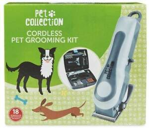 Pet Collection - Cordless Pet Grooming Kit