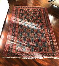 Antico tappeto persiano Malayer annodato a mano - Misure 195x122 cm circa