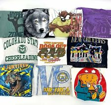 Wholesale Reseller Bundle Lot of 10 Vintage T-Shirts Tees 80s 90s VTG Bulk S-XL
