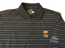 New Jack Nicklaus Mens Turtle Point Kiawah Is. Striped Golf Polo Shirt M