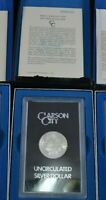 1883 CC Carson City GSA Morgan Silver Dollar Box/COA Uncirculated