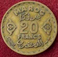 Morocco 20 Francs 1371 (B1205)