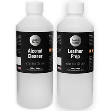 Scratch Doctor Leather Preparer Kit Leather Prep and Alcohol Cleaner Solution