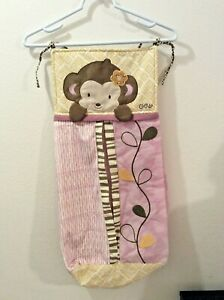 CoCaLo Baby Diaper Stacker Bag Teddy Bear Holds Up to 3 Dozen Diapers