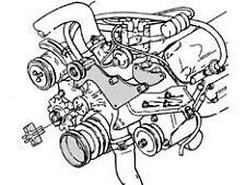 A/c Compressor Mounting Bracket Ford FE 360-390