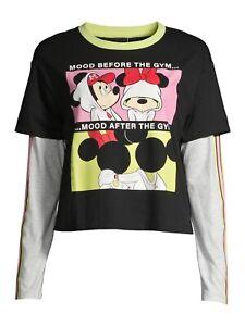Disney  Minnie Mouse Long Sleeve  T-Shirt XXL (19)
