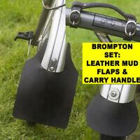 GENUINE BROMPTON FRONT MUDGUARD FLAP /& FITTINGS BIKE CYCLE BRAND NEW QMGFLAPF