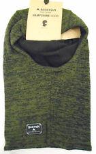 NWT Burton One Size Fits All Hampshire Hood True Black Keef Marl 13424102004