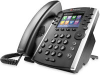 Polycom VVX 410 IP Gigabit IP Phone 2200-46162-025 VVX410 POE