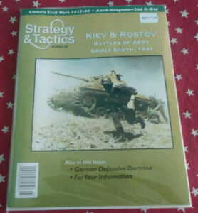 Strategy & Tactics Magazine Decision Games Unpunched #188 Kiev and Rostov