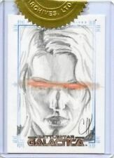 Battlestar Galactica Premiere Edition Sketch Card by Warren Martineck