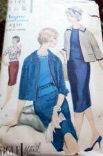 LOVELY VTG 1960s SUIT & BLOUSE VOGUE SPECIAL DESIGN Sewing Pattern 14/34