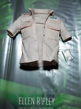 Hot Toys Alien Ellen Ripley White Shirt & extra Buttons 1/6 MMS366 Military