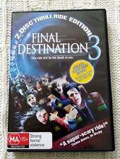 Final Destination 3 (DVD, 2006) R-4, LIKE NEW, FREE POST IN AUSTRALIA