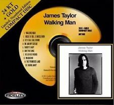 James Taylor Walking Man Audio Fidelity Gold CD Limited Edition Gold Disc New