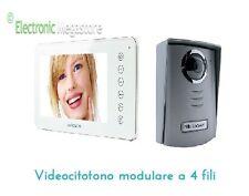 "KIT VIDEOCITOFONO MONOFAMILIARE LCD 7"" TOUCH SCREEN AVIDSEN-nordstrom2 4 FILI"