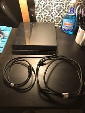 Sony PlayStation 4 1000gb Jet Black Console No Controller, 2 Games, Upgraded Fan