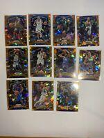 NBA basketball orange cracked ice prizm card lot