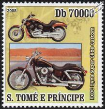 HARLEY DAVIDSON FXDC Dyna Super Glide Custom Motorbike / Motorcycle Stamp