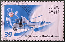 Stamp United States 2006 39c Winter Olympics Turin Used